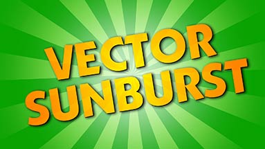 Tutorial 03: Vector Sunburst